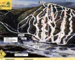 1996-97 Bretton Woods Trail Map
