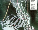 1997-98 Cannon Mountain Trail Map
