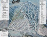 2000-01 Cannon Mountain Trail Map