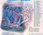 1994-95 Cranmore Trail Map