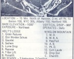 1970-71 Dartmouth Skiway Trail Map