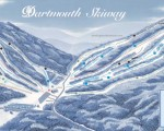 2013-14 Dartmouth Skiway Trail Map