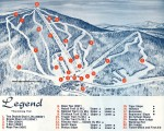 1967-68 Gunstock Trail Map