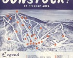 1968-69 Gunstock Trail Map