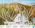 Early 1970s Gunstock Trail Map