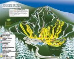 2015-16 Gunstock Trail Map