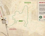2012 Highland Mountain Bike Park XC Map
