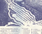 1968-69 Loon Mountain Trail Map