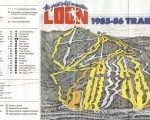 1985-86 Loon Trail Map