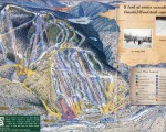 1999-00 Loon Mountain Trail Map
