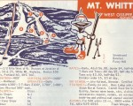 1968-69 Mt. Whittier Trail Map