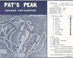 1970-71 Pats Peak Trail Map