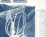 1967-68 Ragged Mountain Trail Map