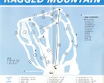 1969-70 Ragged Mountain trail map