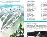 1989-90 Ragged Mountain Trail Map