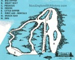 Circa 1961-62 Waterville Inn Trail Map