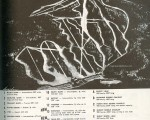 1963-64 Mt. Sunapee Trail Map