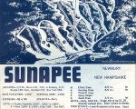 1964-65 Mt. Sunapee Trail Map