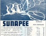 1967-68 Mt. Sunapee Trail Map