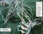 1997-98 Mt. Sunapee Trail Map