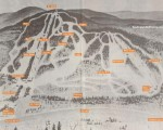 1970s Temple Mountain Trail Map