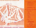 1971-72 Temple Mountain Trail Map