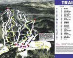 2001-02 Tenney Mountain Trail Map