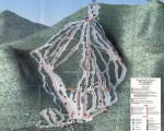 1993-94 Waterville Valley Trail Map
