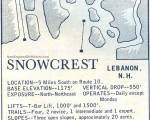 1964-65 Snow Crest Trail Map