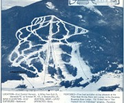 1967-68 Ascutney Mountain Trail Map
