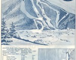 1964-65 Roundtop Mountain Trail Map