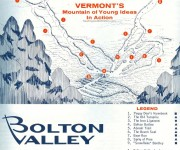 1967-68 Bolton Valley Trail Map