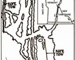 1973-74 Cochran's Ski Area Trail Map