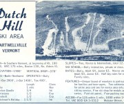 1964-65 Dutch Hill Trail Map