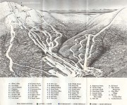 1972-73 Glen Ellen Trail Map