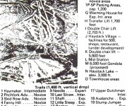 Early 1970s Haystack Trail Map