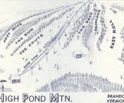 1967-68 High Pond Trail Map