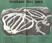 1957-58 Hogback Trail Map
