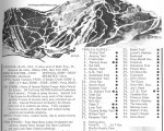 1967-68 Jay Peak Trail Map