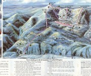1970-71 Killington Trail Map