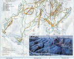 1983-84 Killington Trail Map