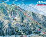 1997-98 Killington East Ridge trail map