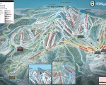 2016-17 Killington Trail Map