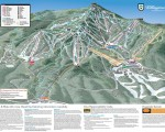 2017-18 Killington Trail Map