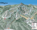 2019-20 Killington Trail Map