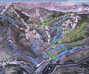 1998-99 Mad River Glen trail map