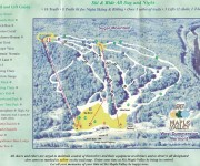 1999-2000 Maple Valley Ski Area Trail Map
