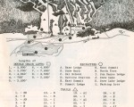 1962-63 Mount Snow Trail Map