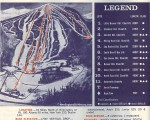1968-69 Mount Snow Trail Map