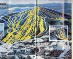 1984-85 Mount Snow Trail Map